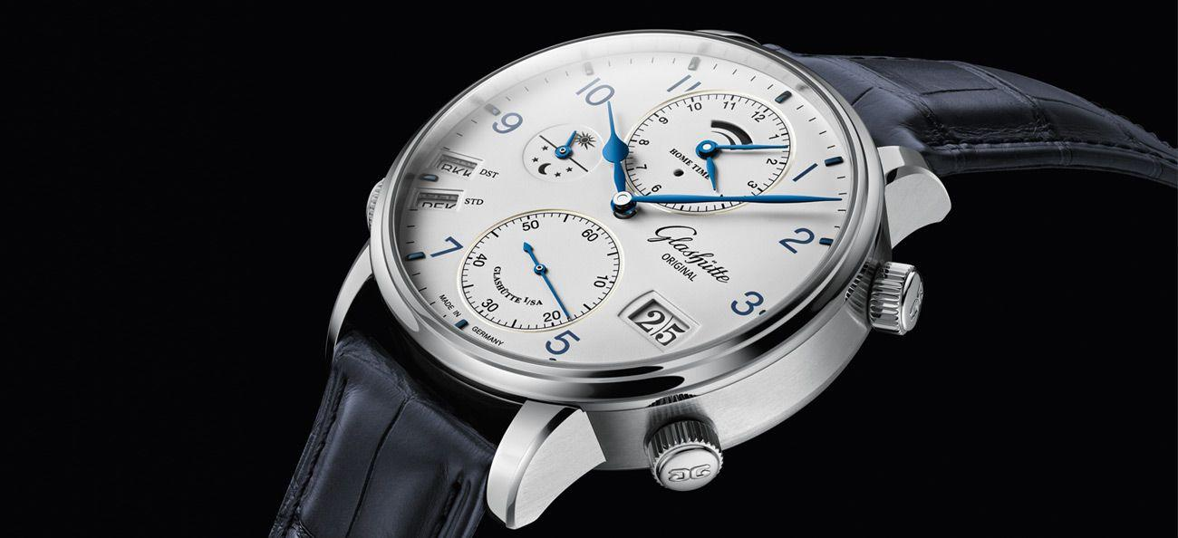 Glashütte Original Senator Cosmopolite in steel