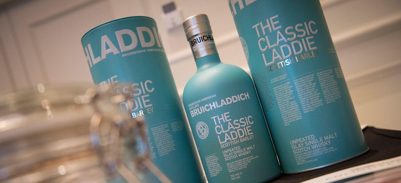Official spirits partner Bruichladdich Islay Single Malt Scotch Whisky