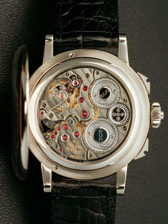 Philippe Dufour Grande and Petite Sonnerie Wristwatch