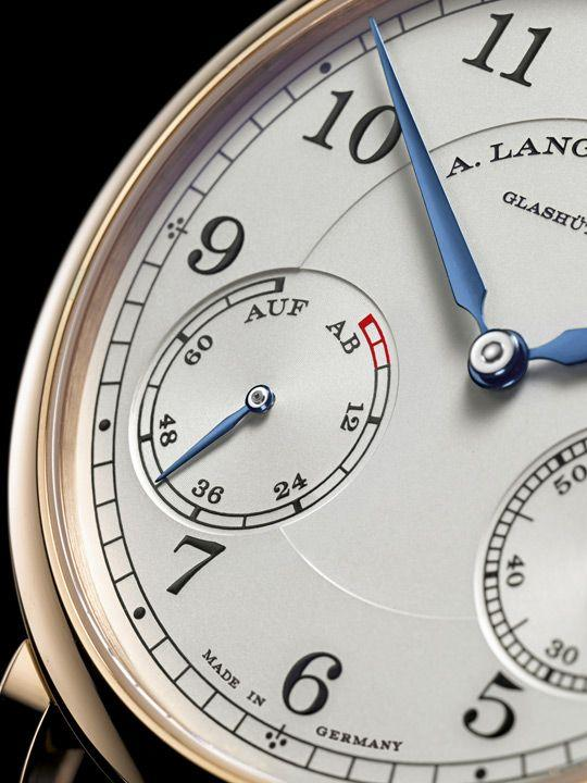 Power reserve indicator on the A. Lange & Söhne 1815 Up/Down