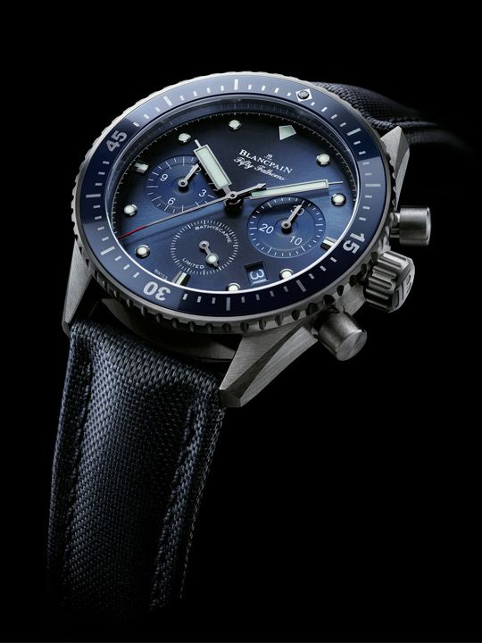 Fifty Fathoms Bathyscape Ocean Commitment Flyback Chronograph circa 2015