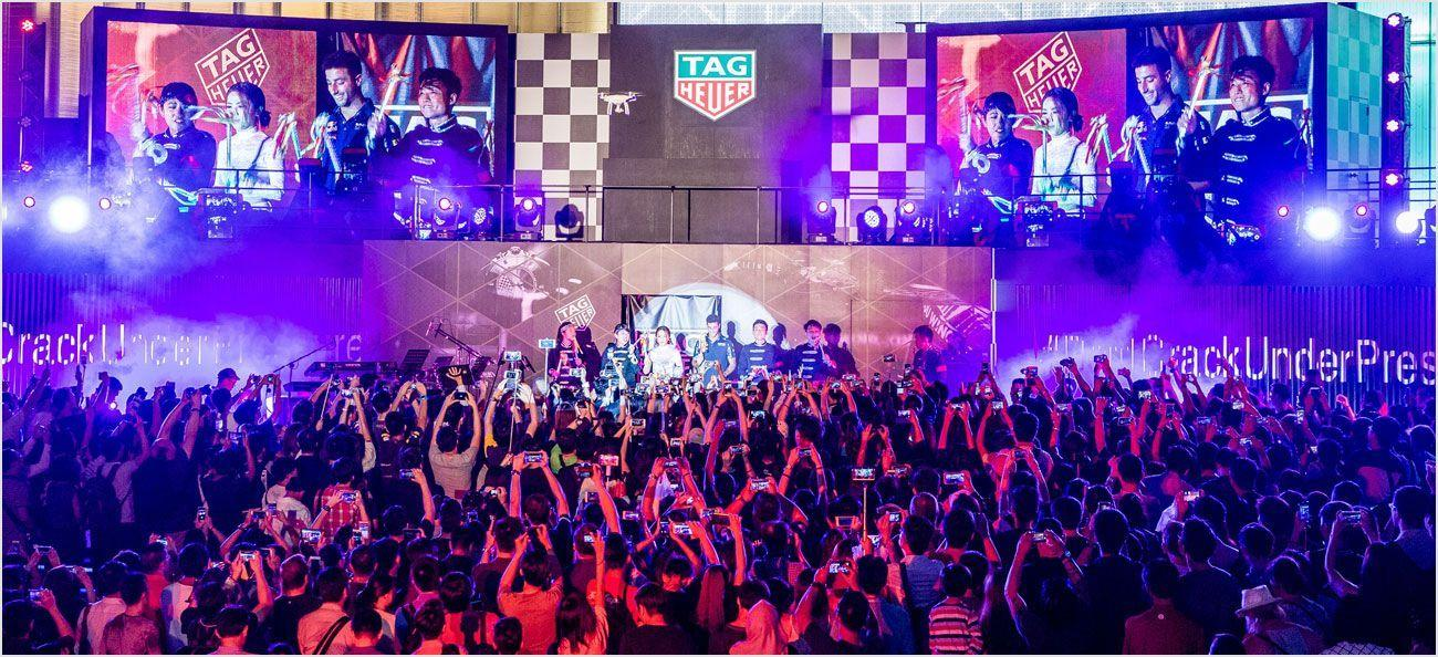 TAG Heuer global ambassador G.E.M. in Singapore for pre-F1 race festivities