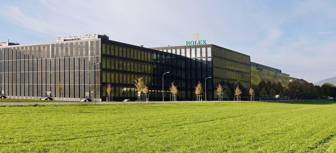 Rolex Bienne headquarters