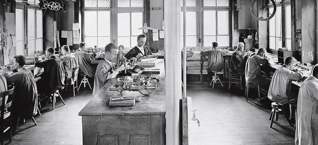 Audemars Piguet workshop circa 1907