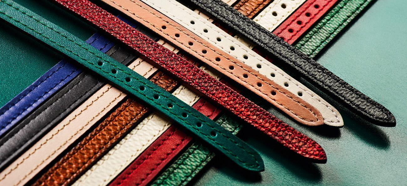Strap options for the Serpent 2017 collection