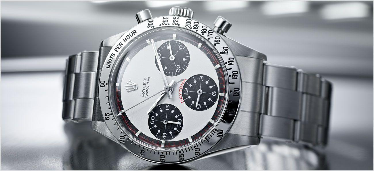 Cosmograph Daytona with what is known as the 'Paul Newman' dial