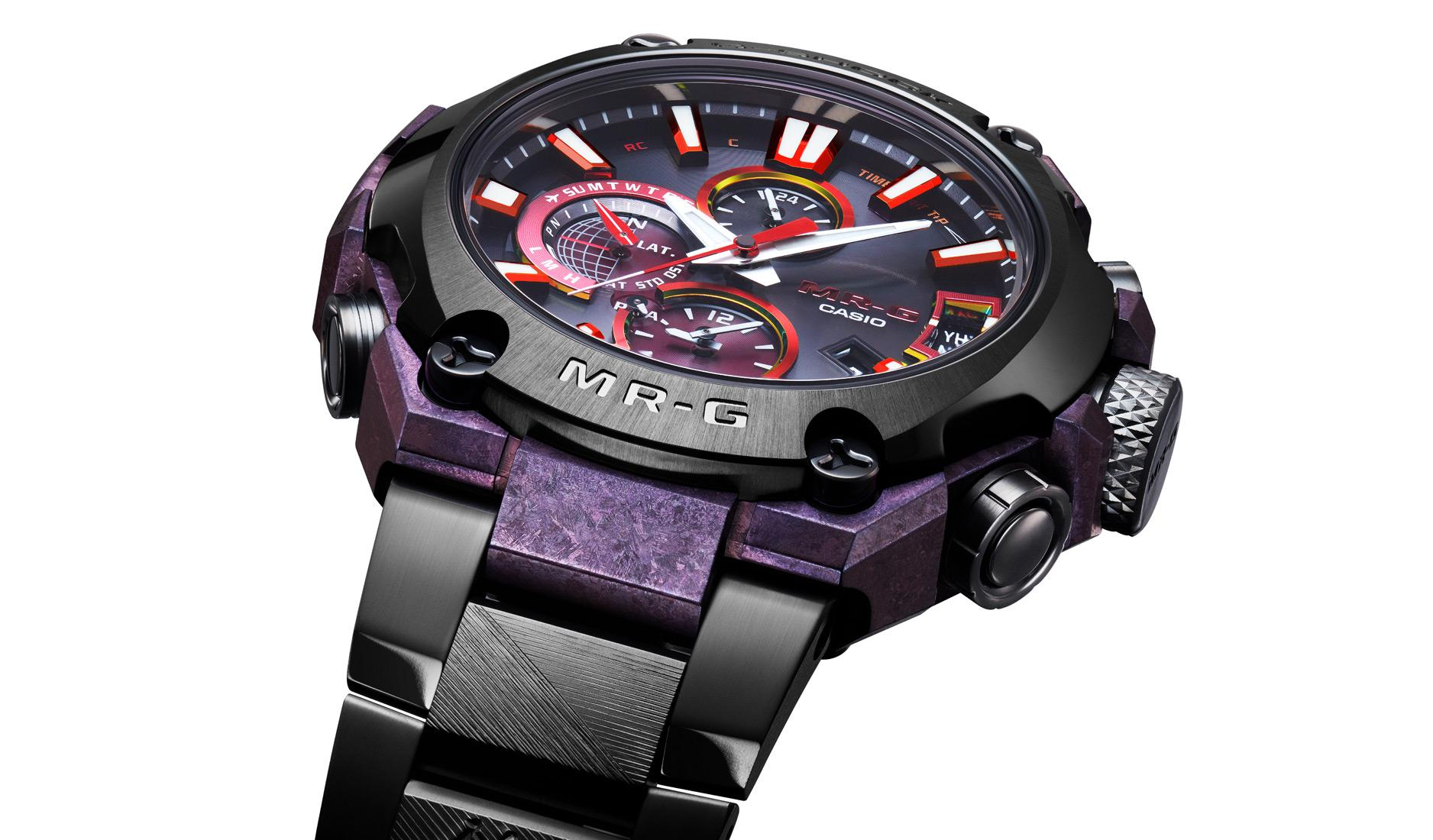 G-Shock MRG-G2000GA limited edition with artisanal materials and finishing