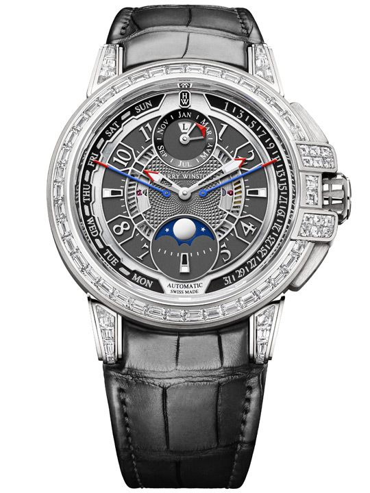 Harry Winston Ocean Biretrograde Perpetual Calendar Automatic 42mm