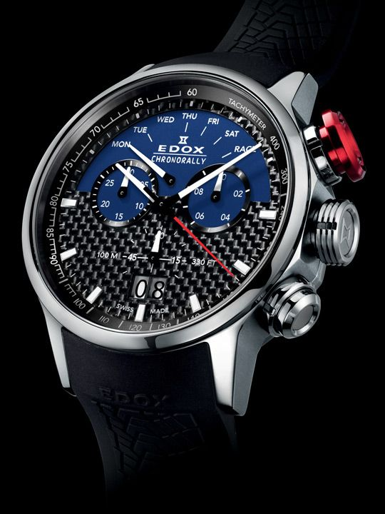 Edox Chronorally Limited Edition Sauber F1 Team watch