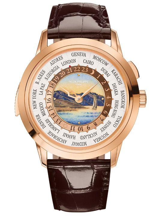 Patek Philippe – Ref. 5531R World Time Minute Repeater