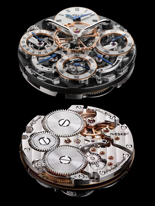MB&F Legacy Machine Perpetual movement