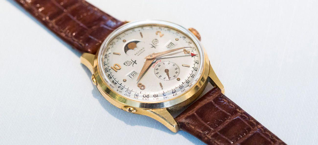 Record Watch Co. Datofix Triple Date with Moonphase