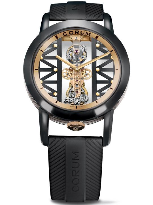 Corum Golden Bridge Titane DLC Tourbillon