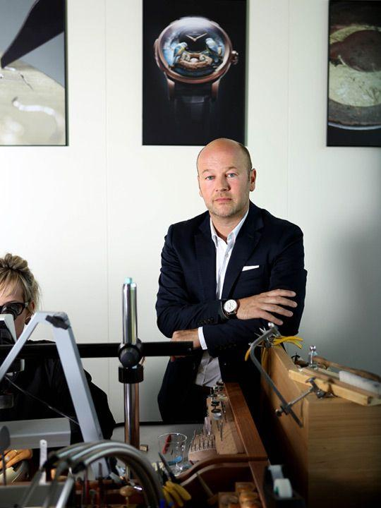 Jaquet Droz CEO Christian Lattmann