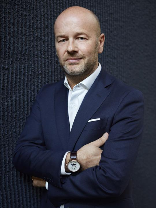 Christian Lattmann, CEO of Jaquet Droz