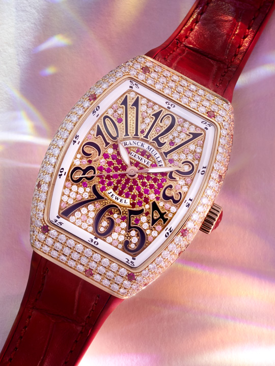 Franck Muller Vanguard Lady Jewel Asia Exclusive