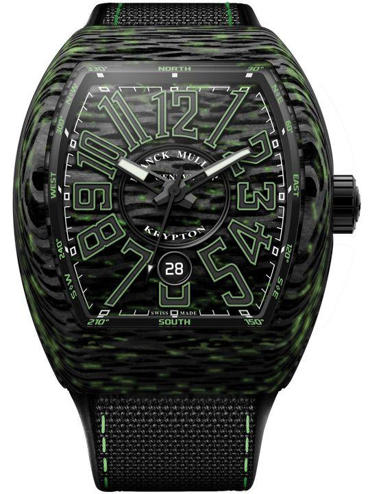 Franck Muller Vanguard Krypton Carbon