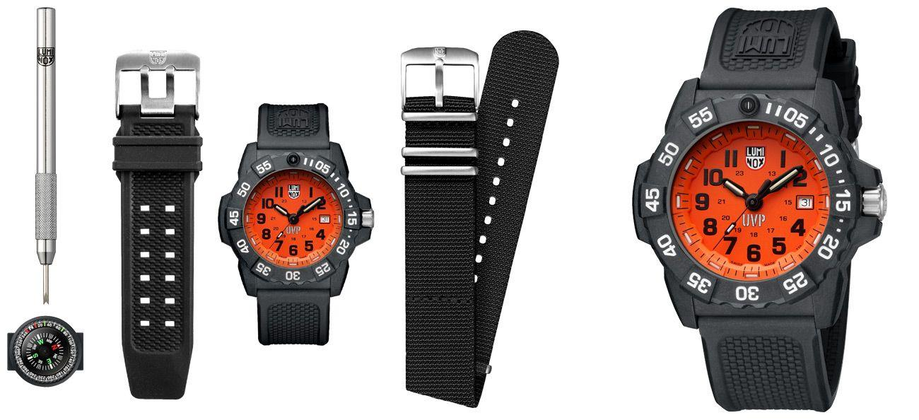 Luminox Scott Cassell UVP Set 3500 Series