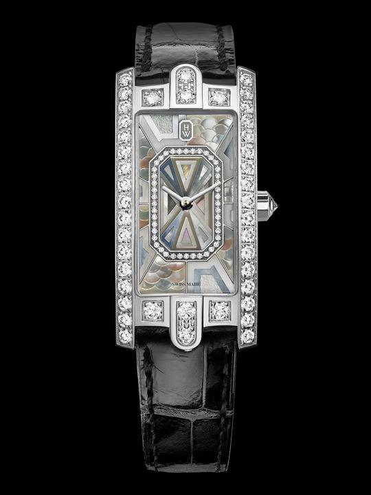 Harry Winston Avenue C featuring mother-of-pearl marquetry