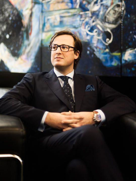 Fortis CEO, Maximilian Spitzy