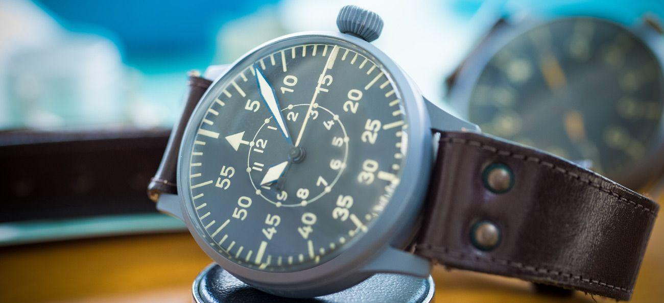 Laco vintage pilot's watch