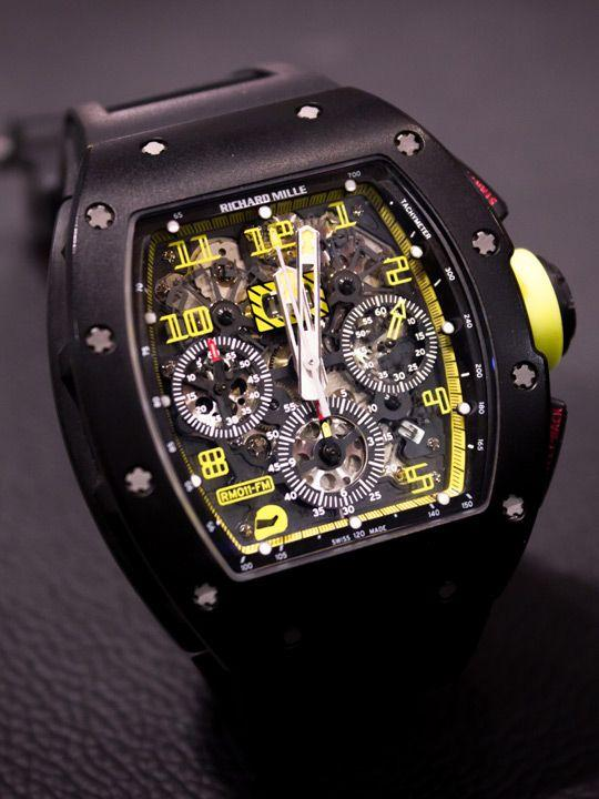 Richard Mille RM011 GP Texas Carbon