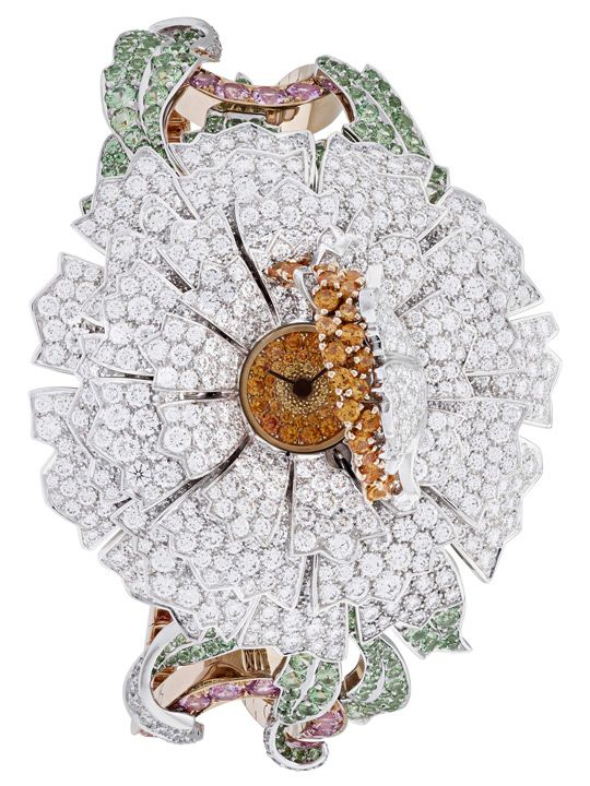 Van Cleef & Arpels Pivoine Secrete Watch