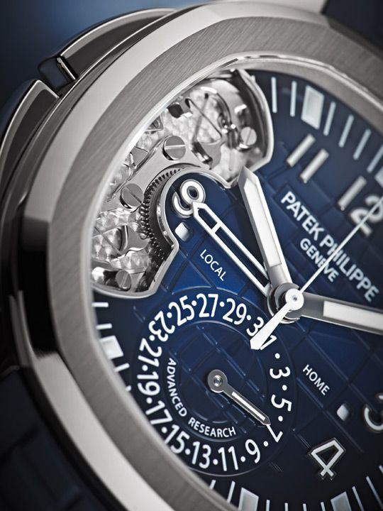 Patek Philippe Aquanaut Travel Time Ref. 5650 Advanced Research