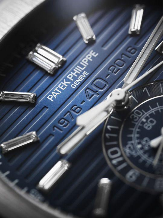 Patek Philippe Nautilus Chronograph Ref. 5976/1G 40th Anniversary Limited Edition