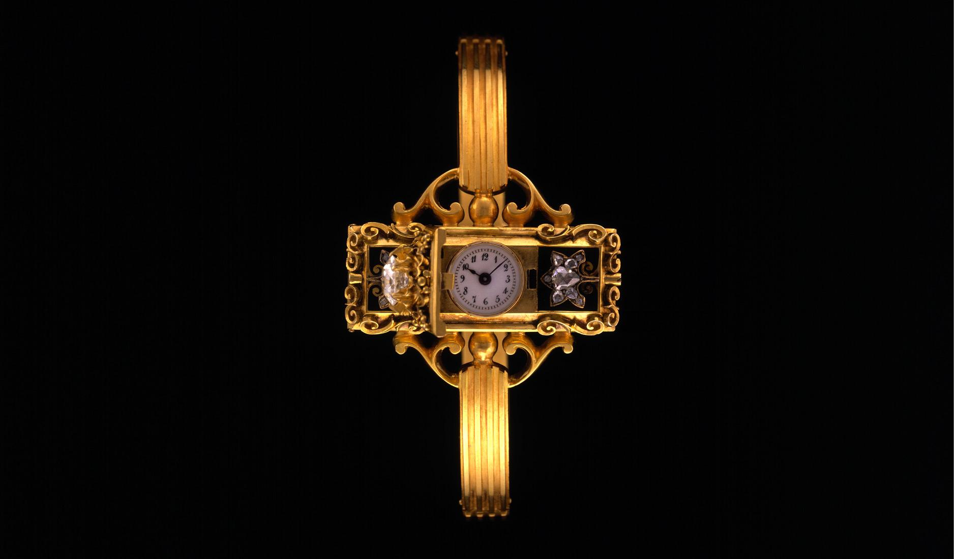 The first wristwatch built by Patek Philippe in 1868