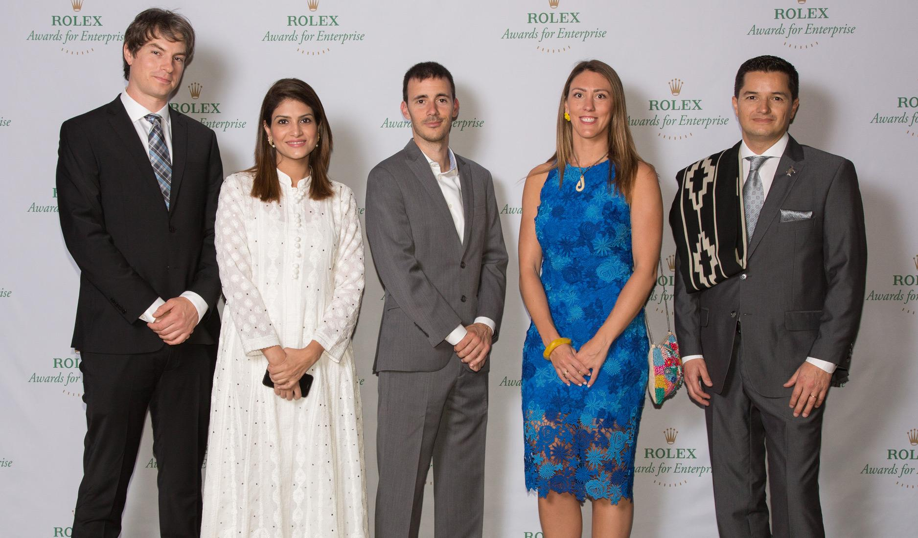 Laureates for the 2019 Rolex Awards for Enterprise