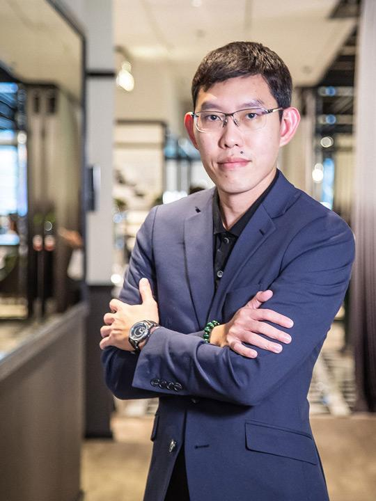 Lim Yong Keong, founder of Feynman Timepieces