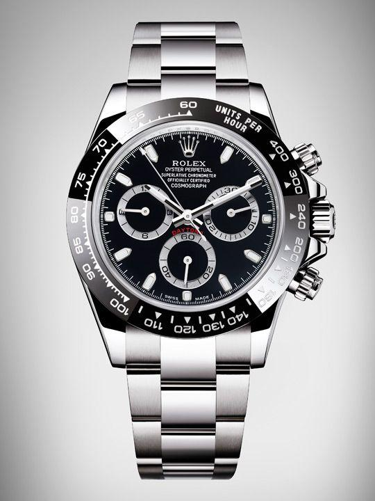 Rolex Cosmograph Daytona in steel