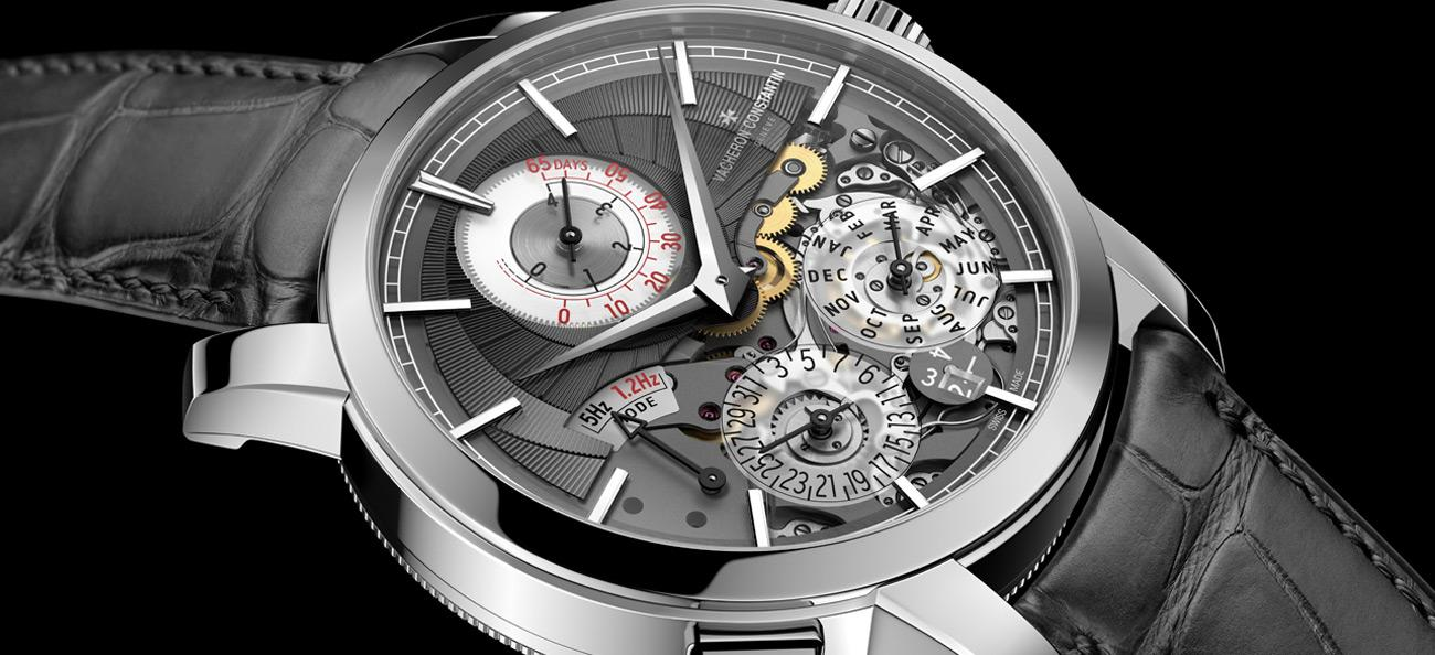 Traditionelle Twin Beat Perpetual Calendar