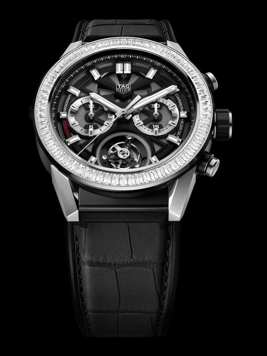 TAG Heuer – Carrera Heuer-02T Baguette Diamonds