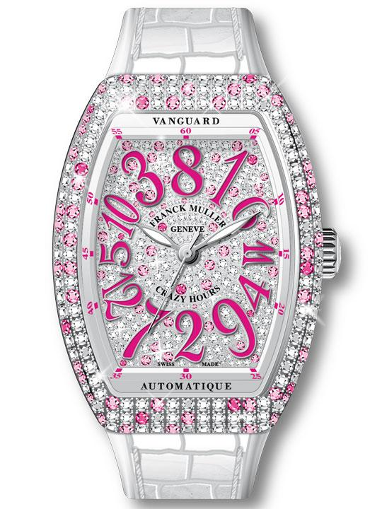 Franck Muller Vanguard Crazy Hours Lady