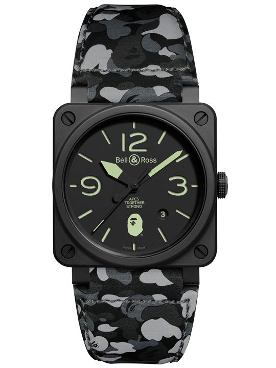 Bell & Ross X BAPE Limited Edition