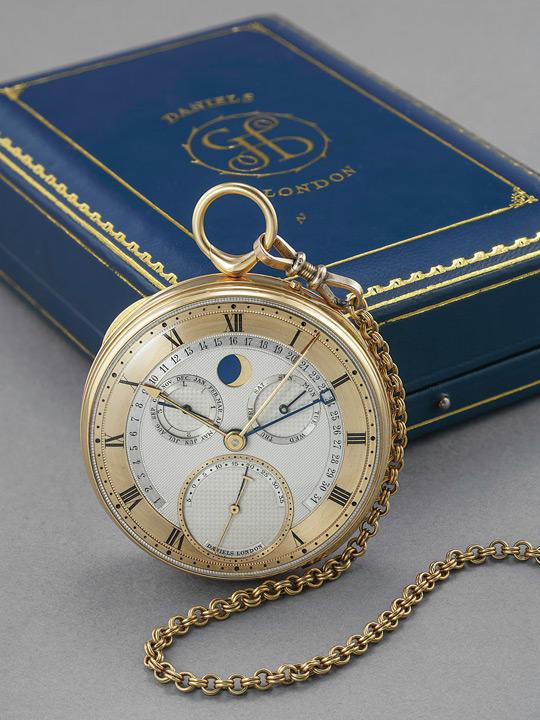 George Daniels pocket watch