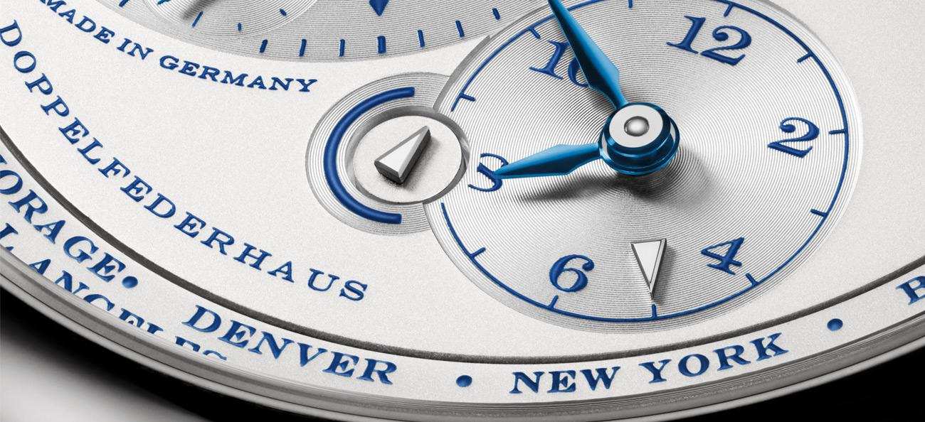 A. Lange & Söhne Lange 1 Time Zone '25th Anniversary'