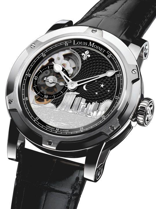 Louis Moinet Singapore Edition