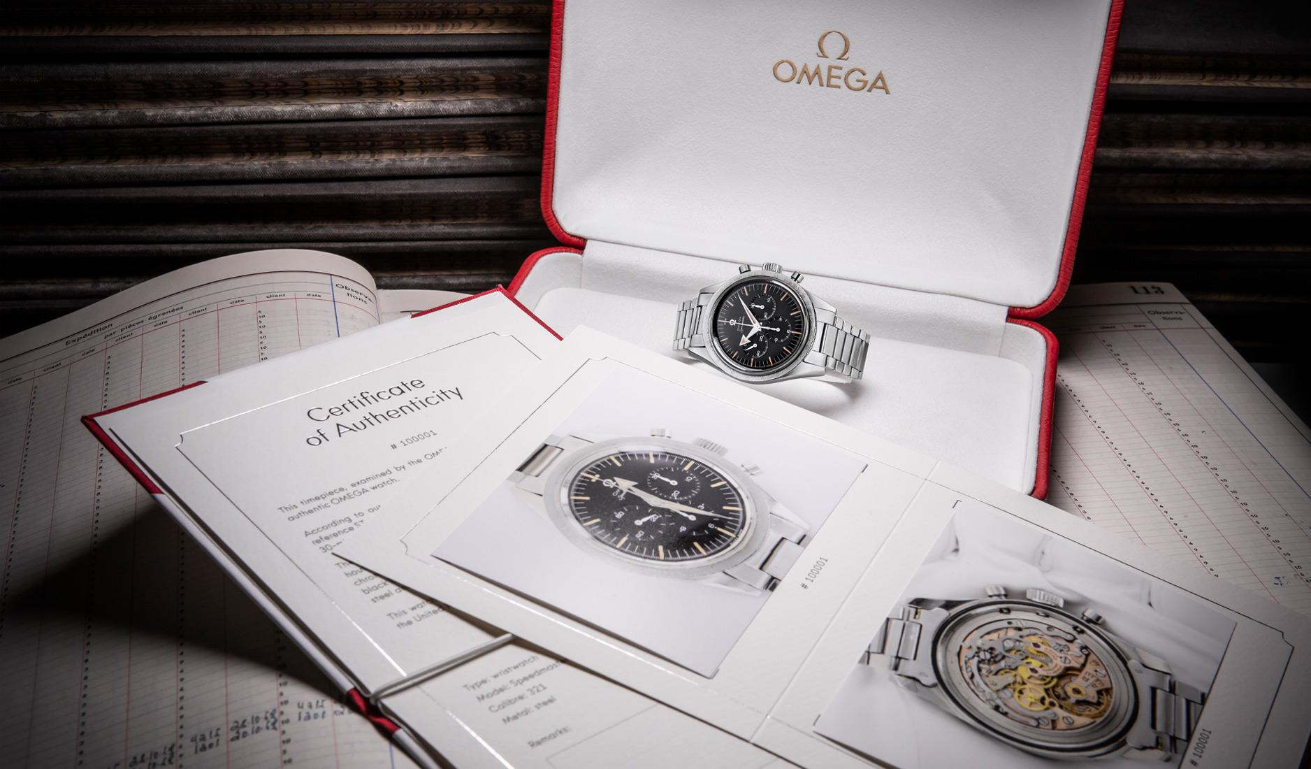 Omega Certificate of Authenticity