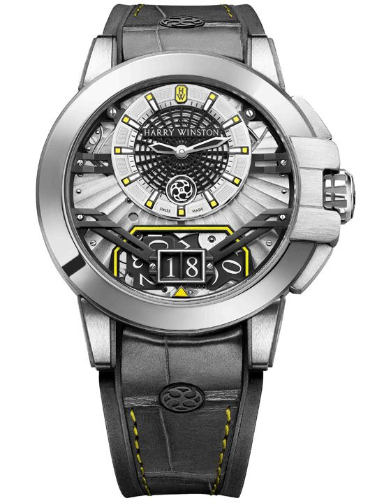 Harry Winston Ocean Big Date Only Watch