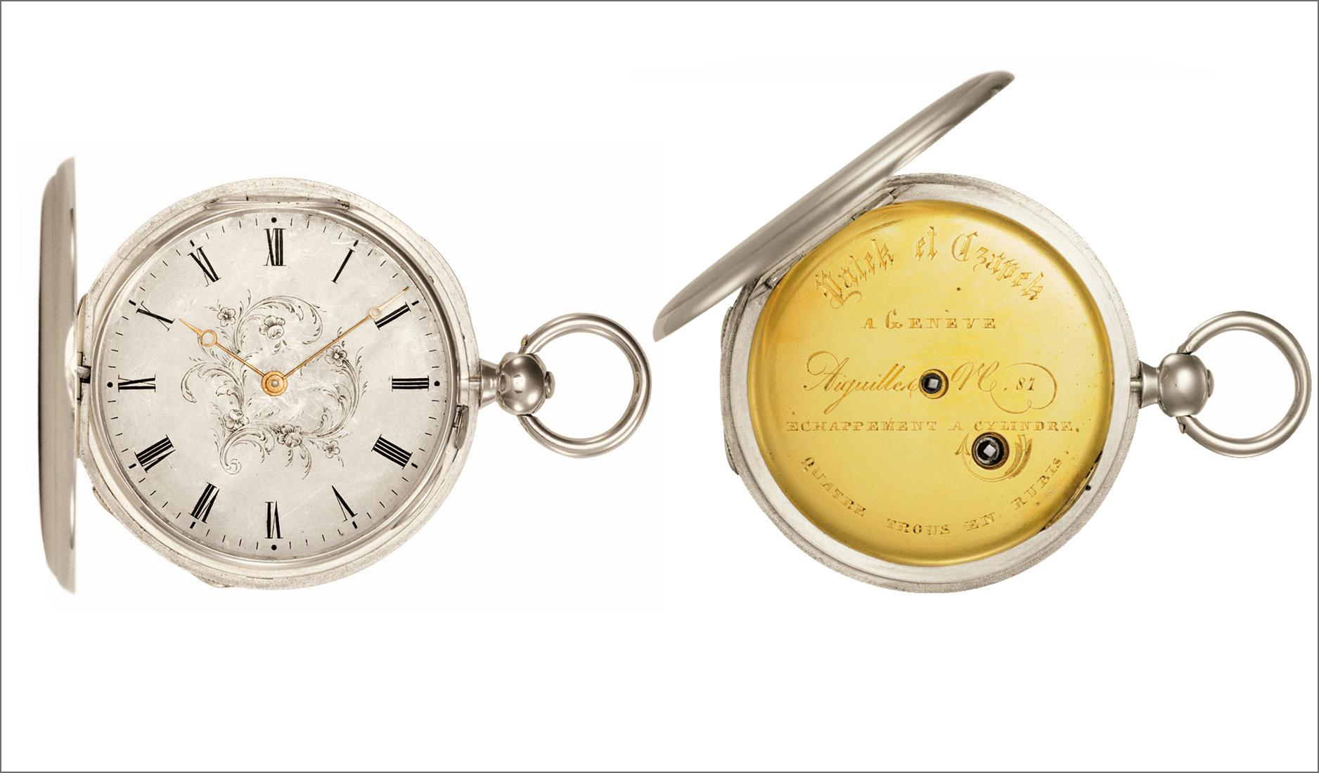 Antoine Norbert de Patek's pocket watch