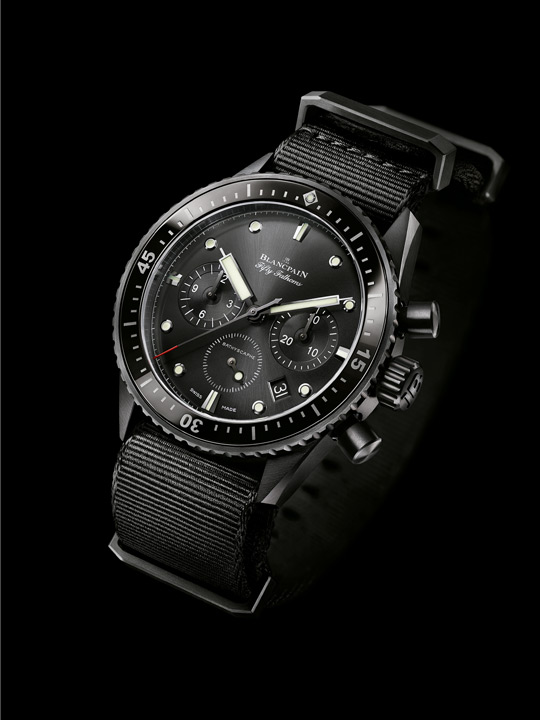 Blancpain Fifty Fathoms Bathyscaphe Chronographe Flyback from 2014