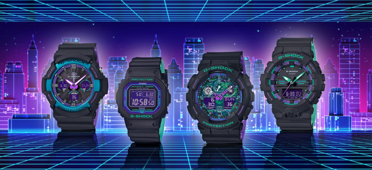 Casio G-Shock Black Based 90s Series