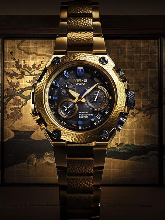 Casio G-Shock Model MRG-G1000HG-9A Gold Hammer Tone 20th Anniversary