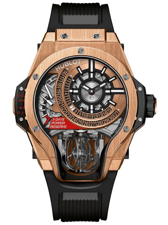 Hublot MP-09 Tourbillon Bi-Axis in King Gold