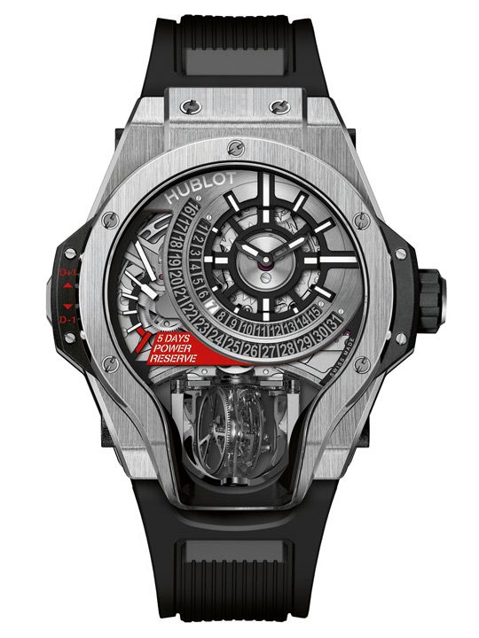 Hublot MP-09 Tourbillon Bi-Axis in titanium
