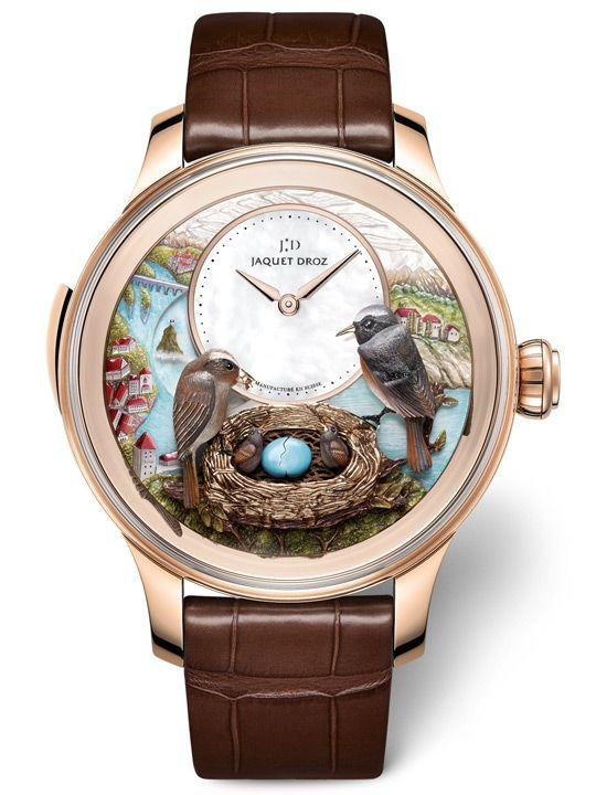 Jaquet Droz Bird Repeater Fall Of The Rhine