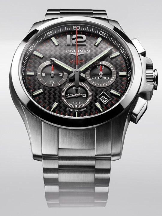 The new Longines Conquest V.H.P. chronograph